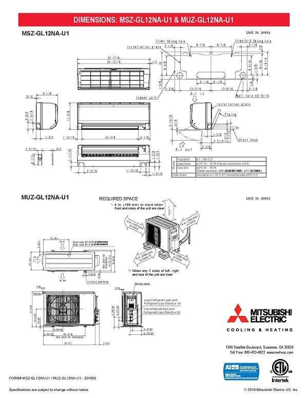 Mitsubishi Mini Split Wiring Diagram